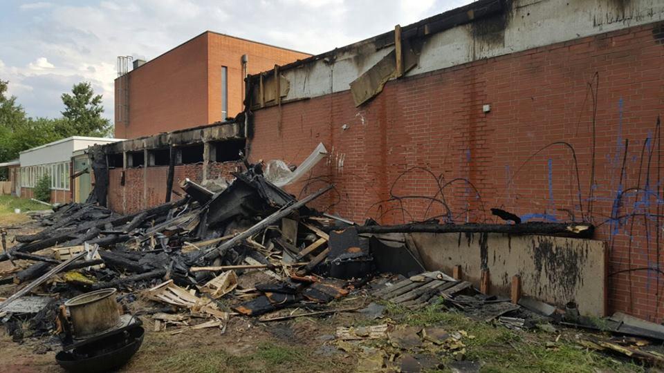 Brand im Mehrgenerationenhaus Groß-Gerau